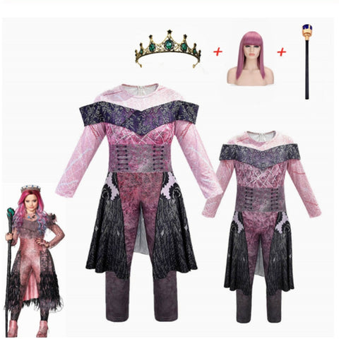 Kids Queen Audrey Descendants 3 Costume