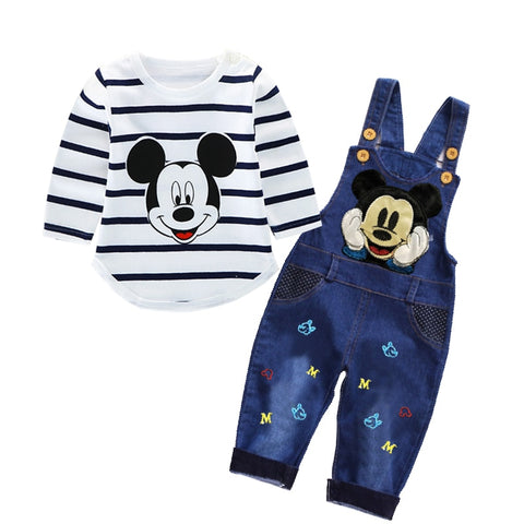 Baby/Toddler Boy and Girl Overalls and Shirt