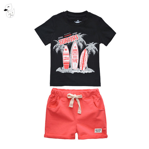 Boys Shirt and Short Sets