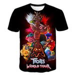 Trolls Assorted T-Shirts for Boys and Girls