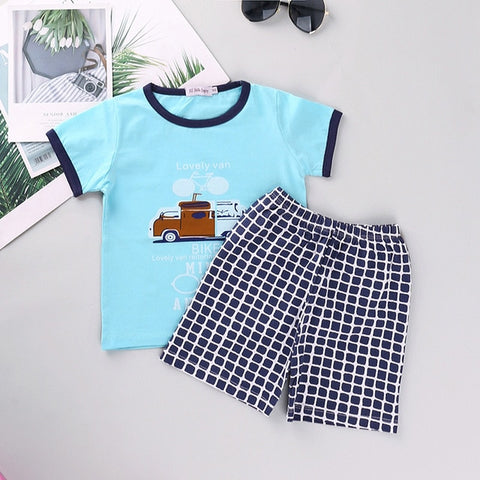 Toddler/Boys Assorted Shirt and Shorts Sets