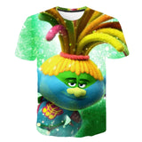Trolls T-Shirts for Boys and Girls