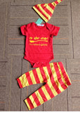 Newborn Baby Boy Bodysuit Set