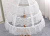 White lace Petticoat length adjustable Underskirt Cosplay Party Dress Petticoat Lolita Petticoat
