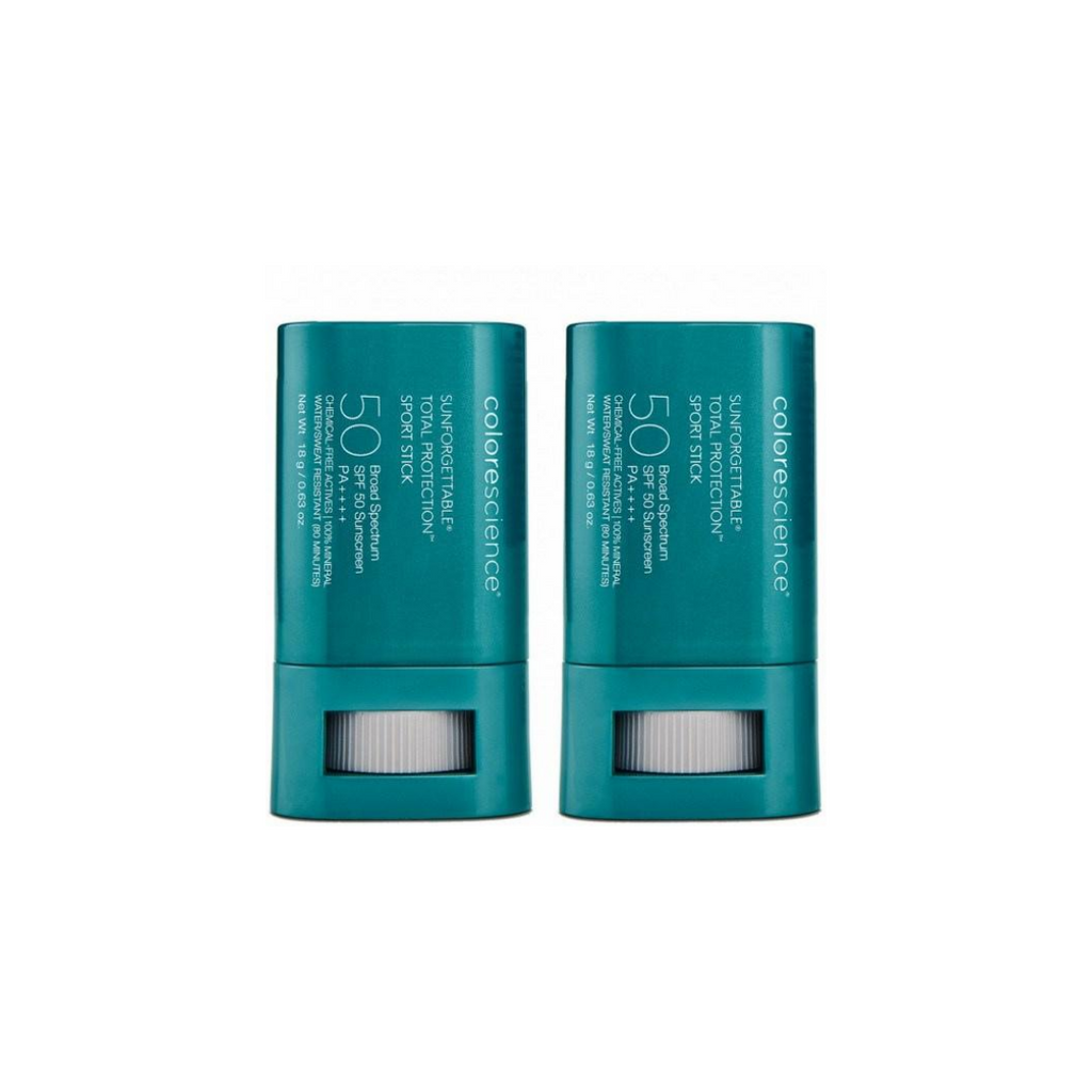 Colorescience - Sunforgettable Total Protection Sport Stick SPF50 Twin Pack