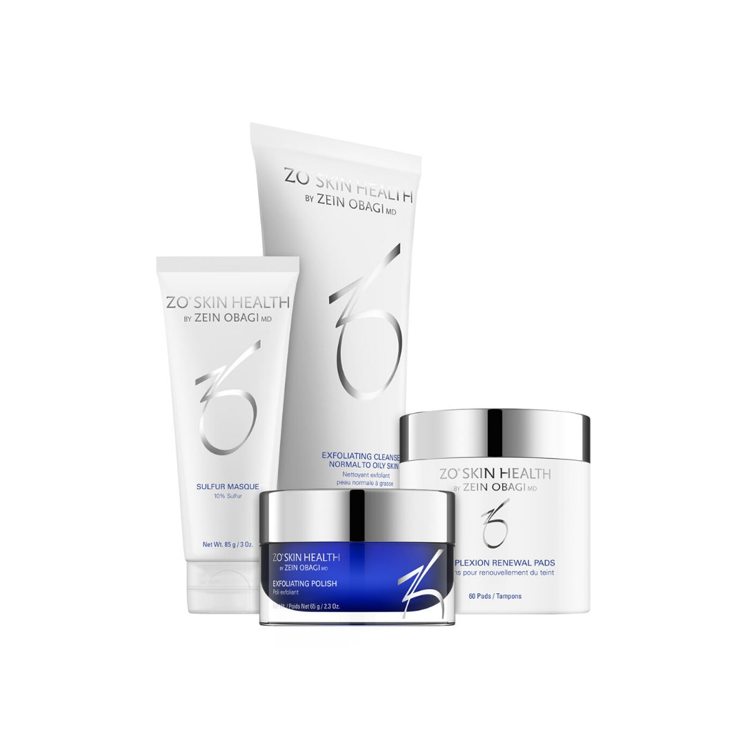ZO Skin Health - Complexion Clearing Program - 4 producten