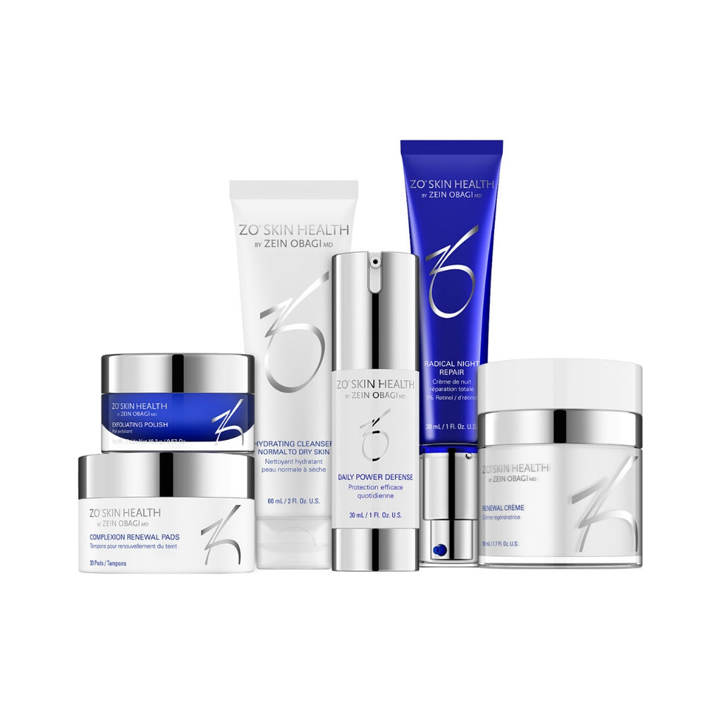 ZO Skin Health - Agressive Anti-Aging Program - 6 producten