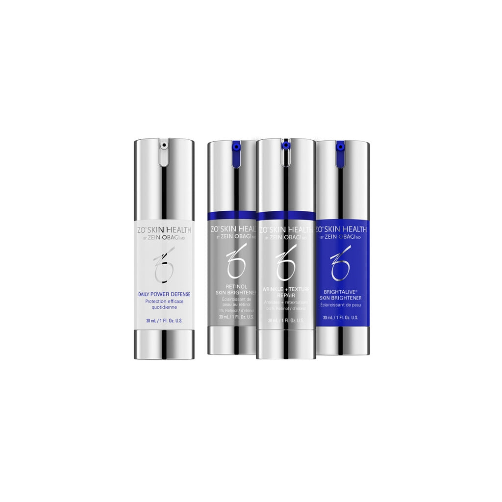 ZO Skin Health - Skin Brightening Program + Texture Repair - 4 producten