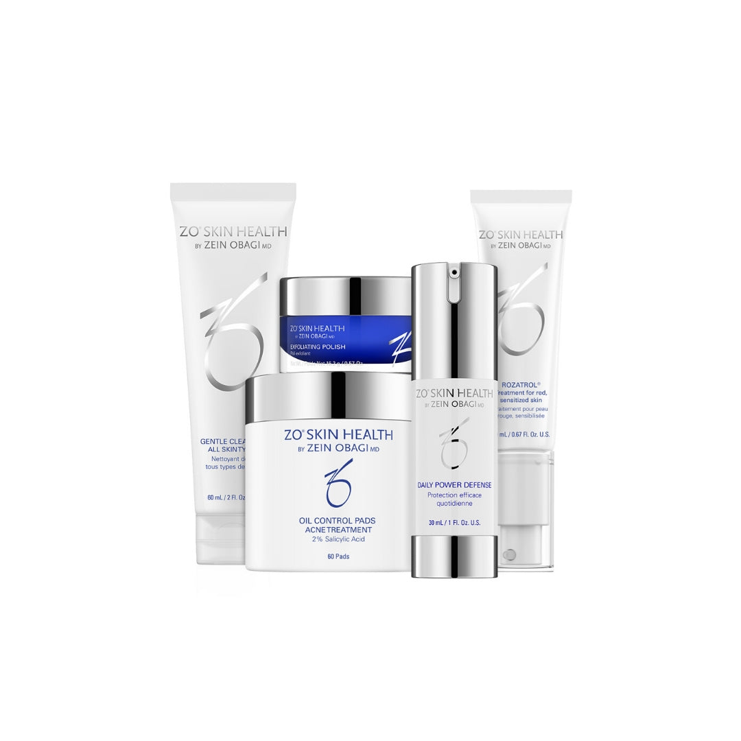 ZO Skin Health - Skin Normalizing System - 5 producten