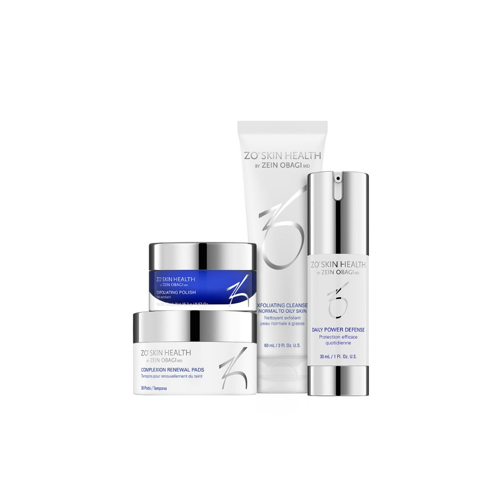 ZO Skin Health - Daily Skincare Program - 4 producten