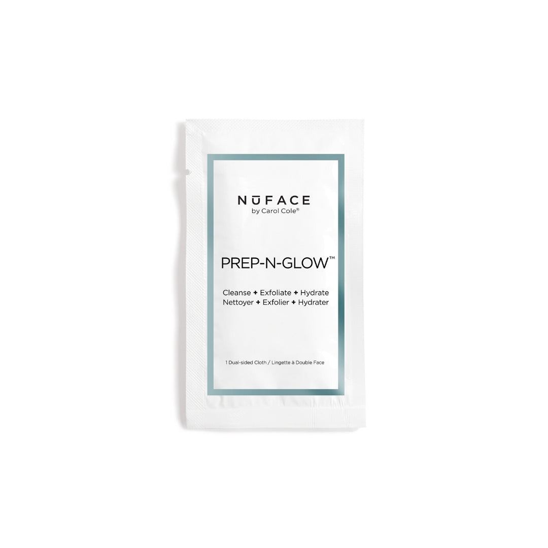NuFACE - Prep-N-Glow Cleansing Cloths 20-pack