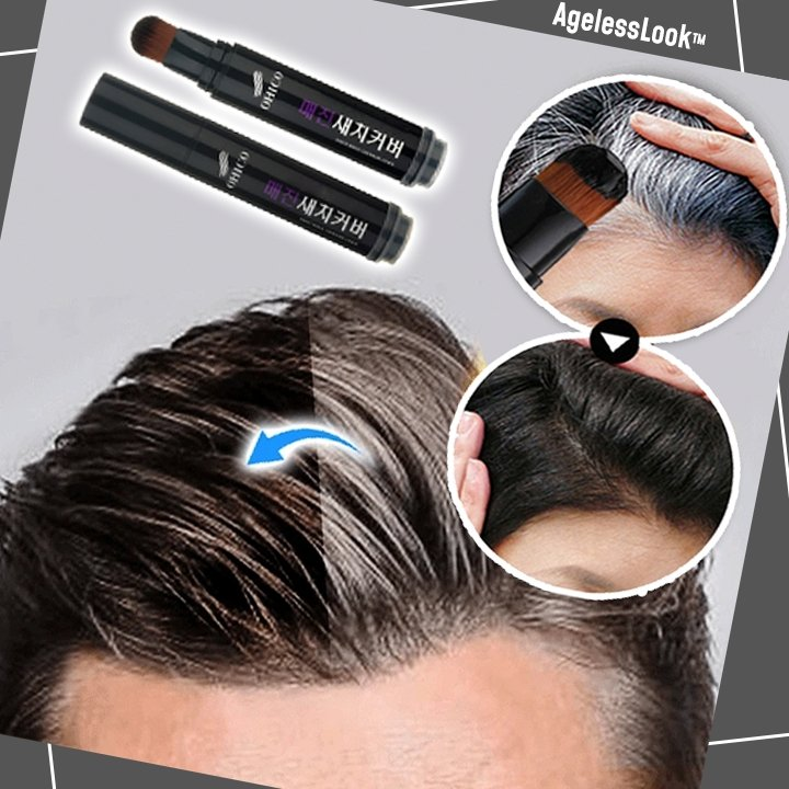 AgelessLook™ Hair Darkening Stick - Geniusly PH
