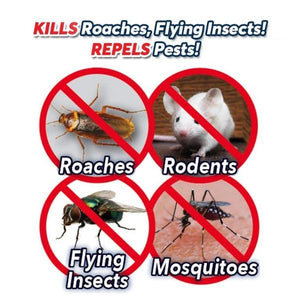 Atomic Zapper™ Ultrasonic Rodent Repellent and Insect Zapper - Geniusly PH