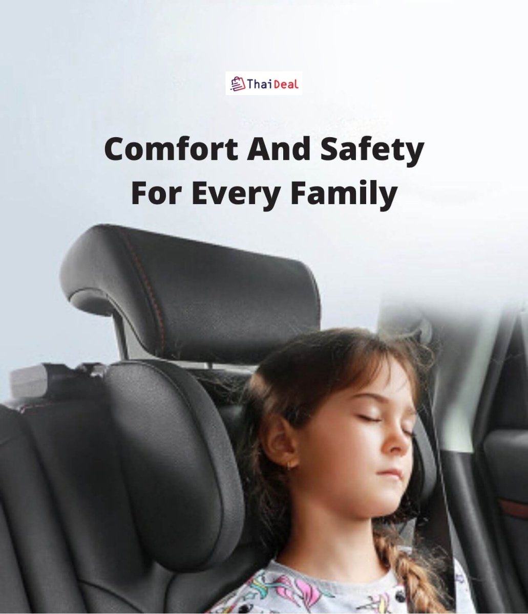 ERGONOMIC HEAD AND NECK SUPPORT FOR THE CAR - Geniusly PH