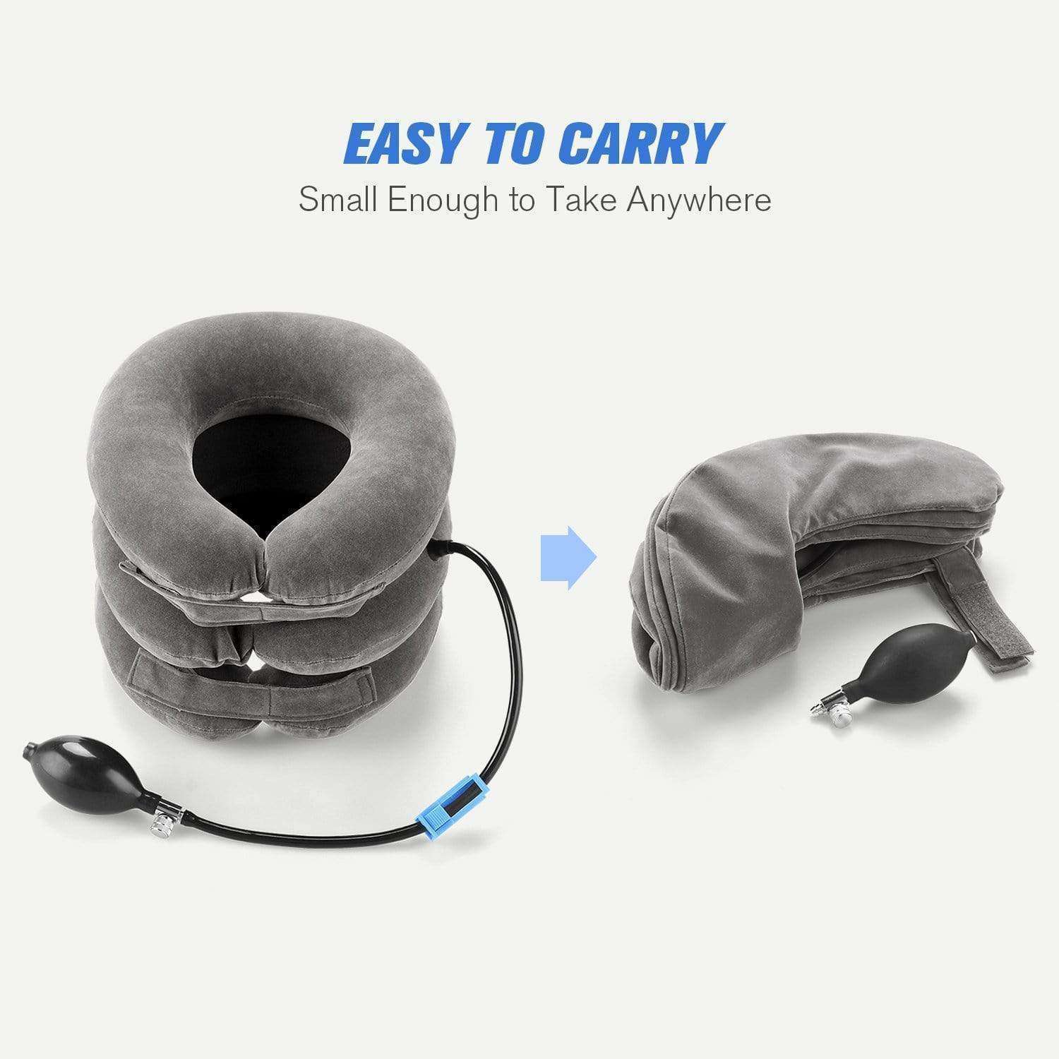 Expandable Pain-Relief Neck Pillow Collar - GeniuslyStore