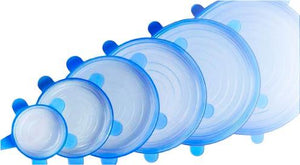 Flexible Silicone Lids (6pcs) - Geniusly PH