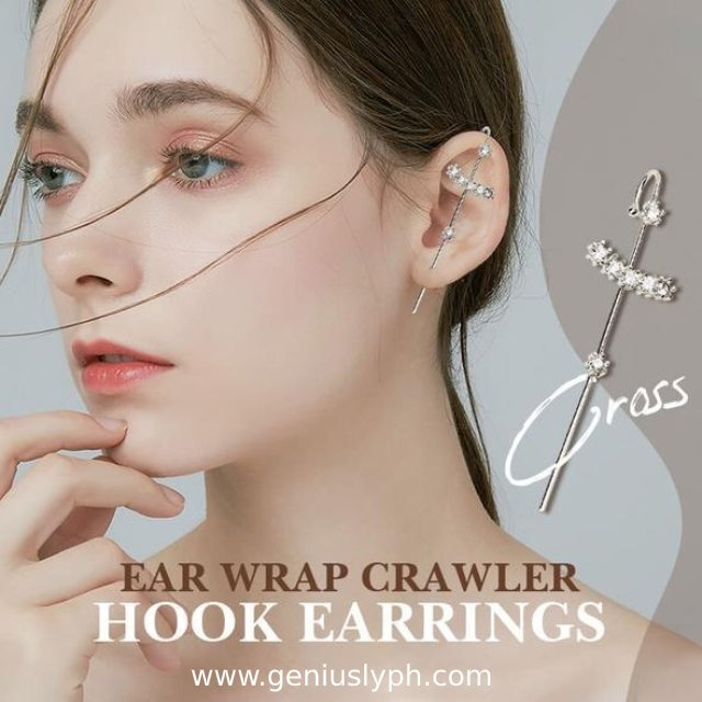 ✨Jolieaprile✨Ear Wrap Crawler Hook Earrings - Geniusly PH