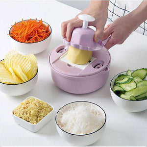 Mandoline Slicer Cutter Chopper and Grater - GeniuslyStore