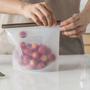 Reusable Food Storage Bags (FDA Approved Silicone) - GeniuslyStore
