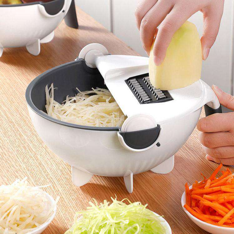 Smart Chopping and Strainer Bowl - GeniuslyStore