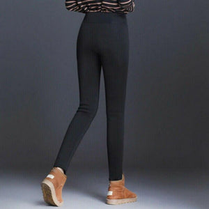 Thick Cashmere Wool Leggings & Pants - Geniusly PH