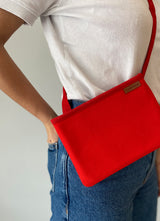 SMALL POUCH BAG WITH SHOULDER STRAP