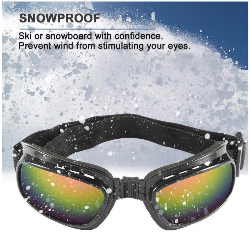 Anti Reflection Motor Goggle Set-Dagoodi