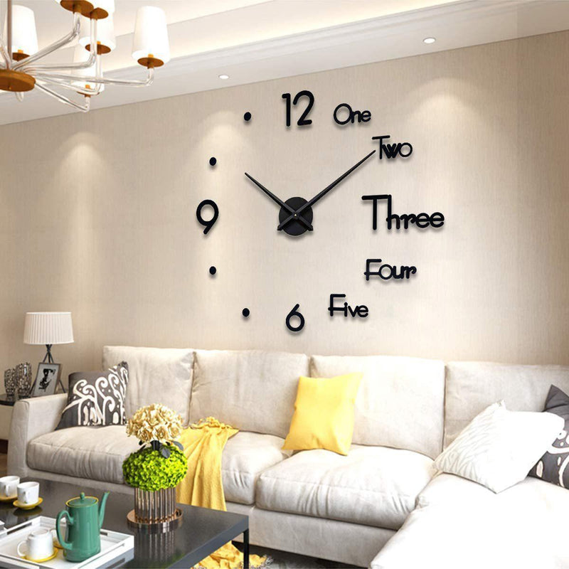 DIY Big Wall Clock-Dagoodi