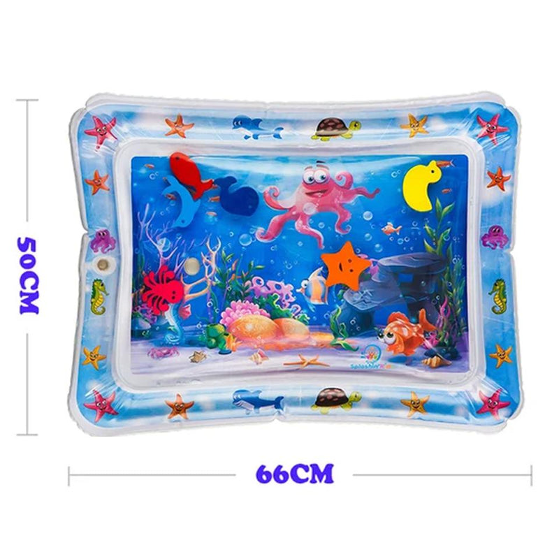 Inflatable Baby Kids Water Play Mat-Dagoodi