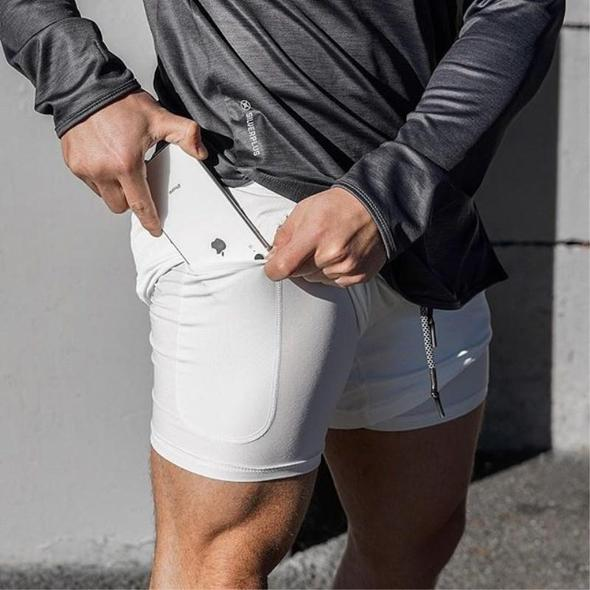 2-in-1 Secure Pocket Fitness Pants