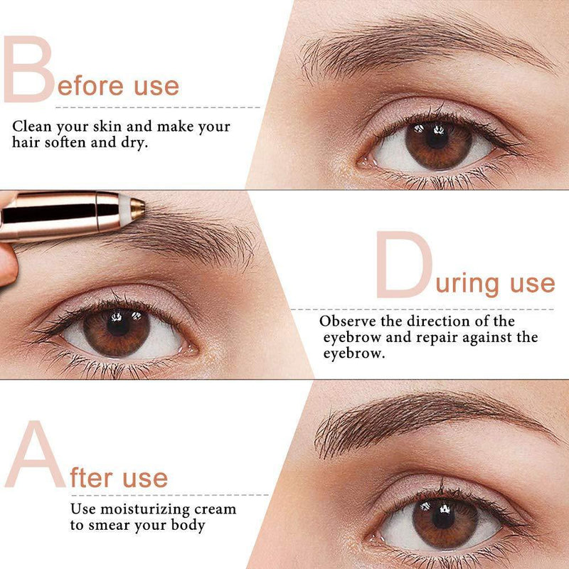 Painless Eyebrow Trimmer-Dagoodi