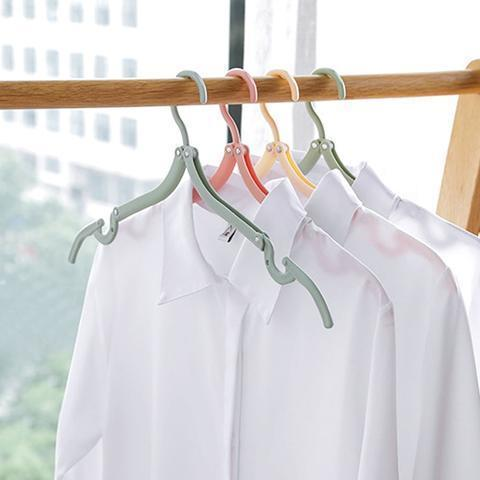 Portable Clothing Hangers - 8 Pieces-Dagoodi
