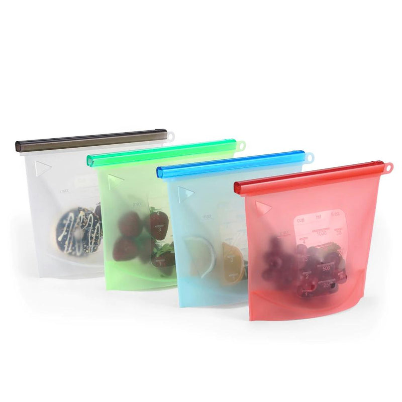 Reusable Food Storage Bags 4-Dagoodi