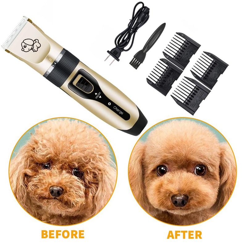 Ultra Quiet Pet Hair Trimmer-Dagoodi