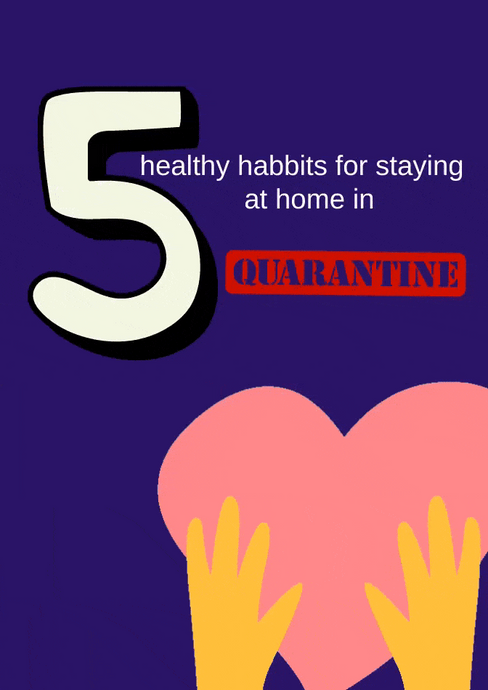 How to stay healthy in Quarantine 🤸🏻‍♀️👌🏻
