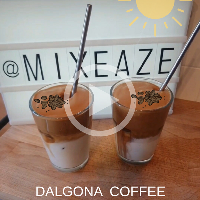 Dalgona Coffee Recipe!