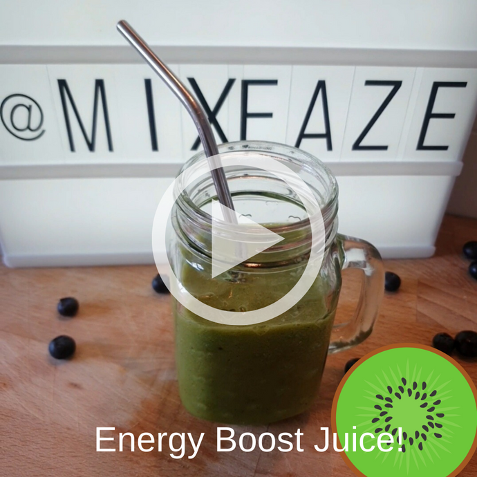 Energy Boost Juice Recipe!