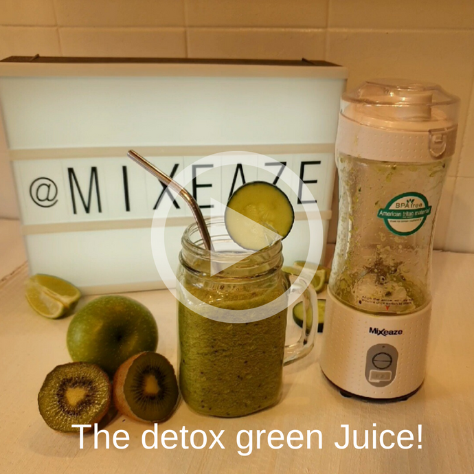 The detox green Juice