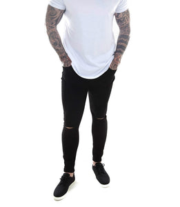 'Rio' Skinny Jeans - Black - CartelStoreOfficial