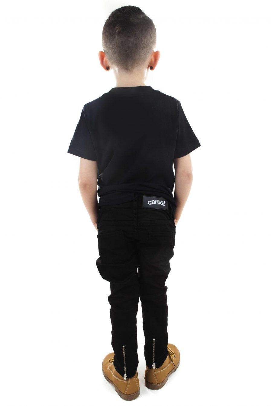 Kids Rio Jeans Black - CartelStoreOfficial