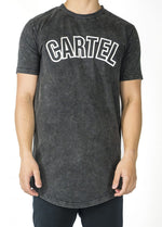 Load image into Gallery viewer, 'Earned' T-Shirt - Acid Black - CartelStoreOfficial