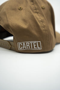 Snapback - Tan (White text) - CartelStoreOfficial