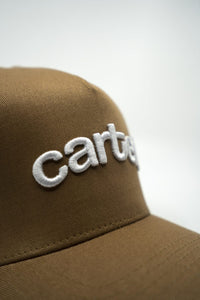 Kids Snapback - Tan - CartelStoreOfficial