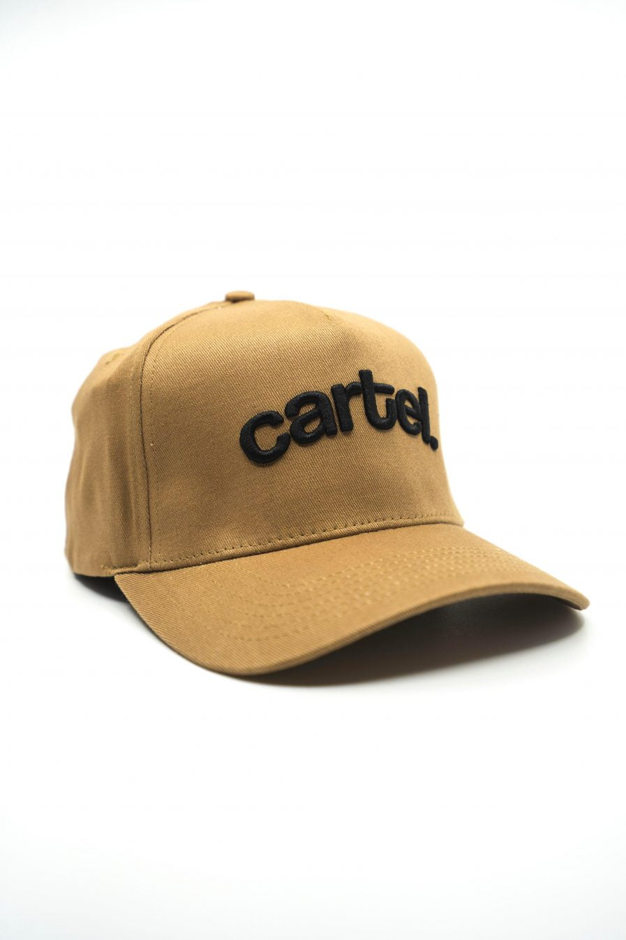 Snapback - Tan (Black text) - CartelStoreOfficial