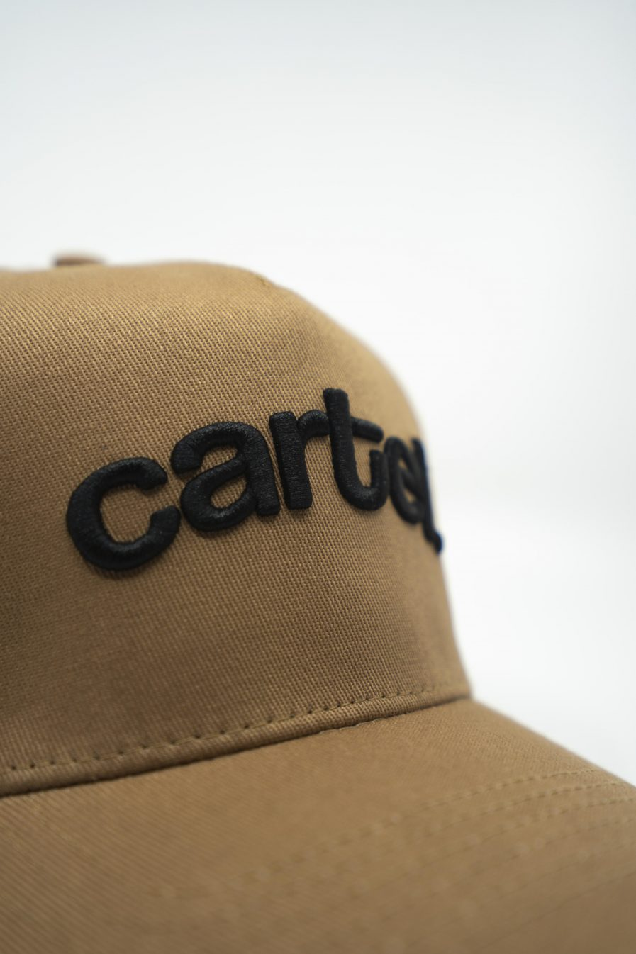 Snapback - Tan (Black text) - Cartel Store