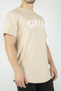 'Mustang' T-Shirt - Peach - CartelStoreOfficial