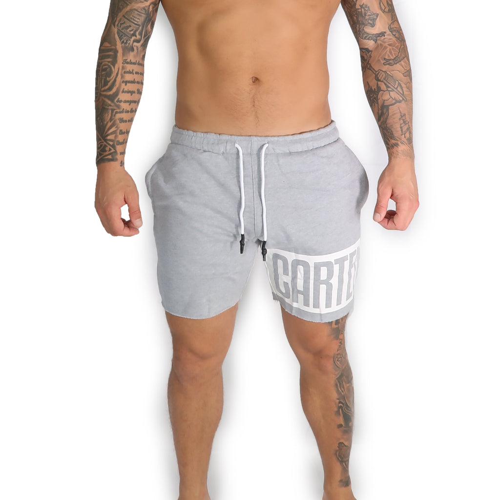 'Lockdown' Shorts - Grey - CartelStoreOfficial