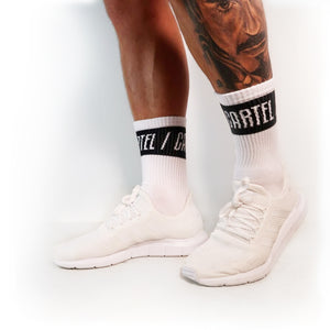 Crew Socks (Black) - 3 pack - CartelStoreOfficial