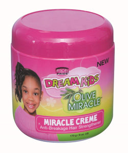 African Pride Dream Kids Olive Miracle Miracle Crème