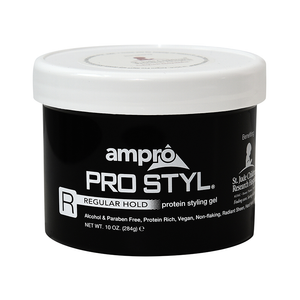 Ampro Pro style Regular Hold Protein Styling Gel 10oz.